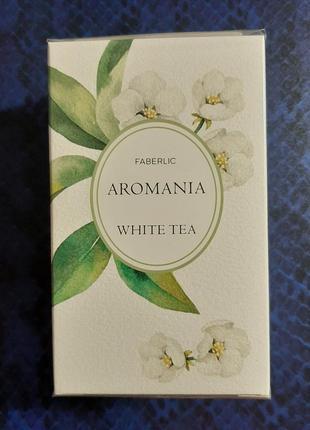 Туалетная вода aromania white tea/ faberlic- моноаромат/белый чай