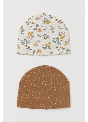 Набор шапочек для девочки h&m