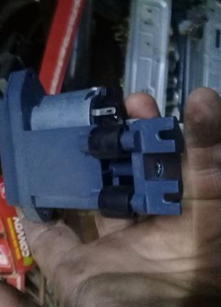 Мотор редуктор комбинированный с отключаемым валом 24В, 6 об/мин