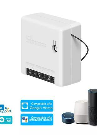 Sonoff Mini wi-fi вай-фай выключатель. Умный дом.