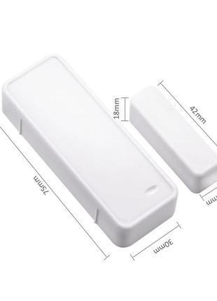 Беспроводной датчик открытия/закрытия двери 433МГц для Sonoff ...