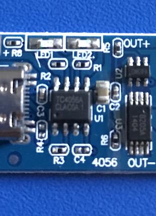 TP4056 Type-C Зарядная Плата Li-Ion С Защитой