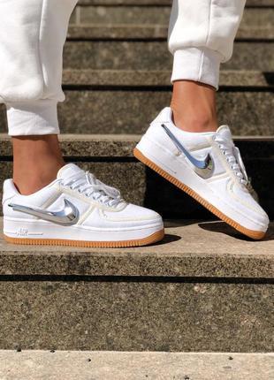 Nike air force travis scott x louis vuitton женские кроссовки ...