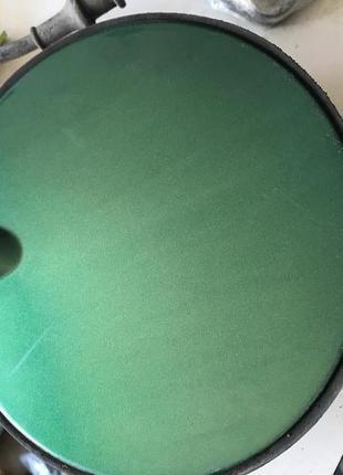 Лючок бензобака Опель Вектра Б зеленый черный Vectra B Opel