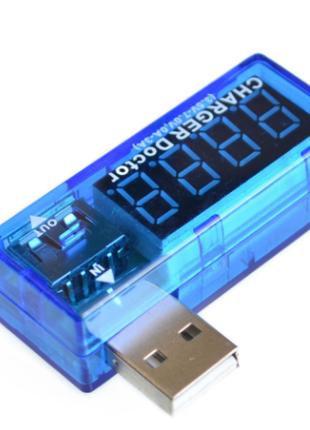 USB тестер индикатор напряжения и тока