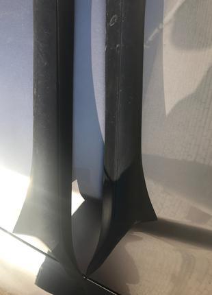 Накладки (декор) внутренние лобового стекла Опель Вектра Б