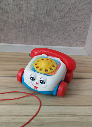 "Іграшка-каталка ""Веселий телефон» Fisher-Price"