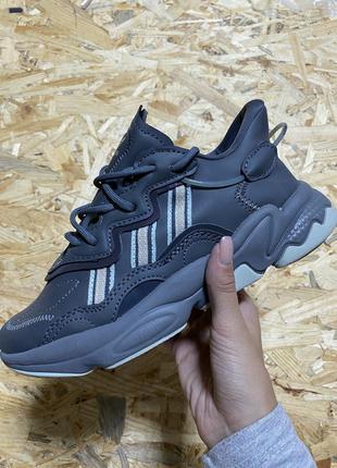 Кроссовки Adidas Ozweego Black Reflective