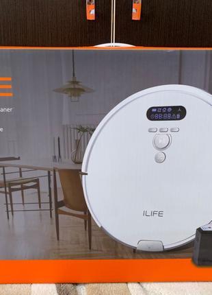 Умный робот-пылесос iLife V8 Plus (8S)! Влажная уборка, как Xi...