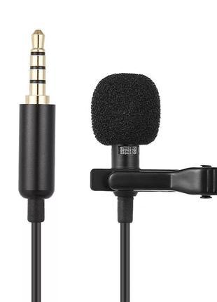 Петличный конденсаторный микрофон Andoer EY-510A для смартфона...