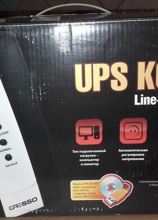 Источник бесперебойного питания Gresso UPS K650VA