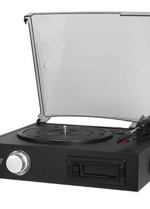Проигрыватель виниловых дисков с кассетным проигрывателем Camr...