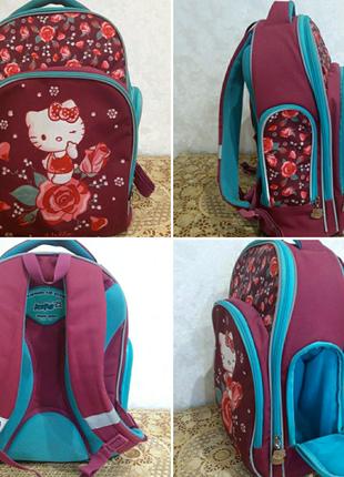 Рюкзак/портфель Кite в отличном состоянии, для 2,3 и 4 класса