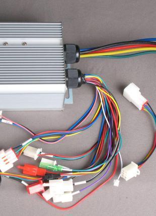 Контроллер для электровелосипеда 600-3600W 48-72V 12,5-50A + Blue