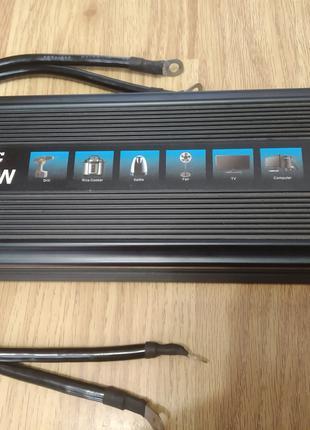 Преобразователи напряжения 12v/220v 1500 и 2000W (автоинвертор)