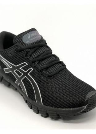 Кроссовки в стиле asics gel-quantum  черные