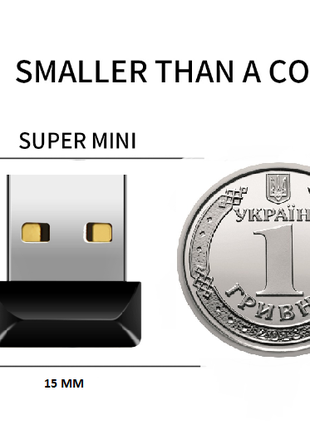 Mini USB флешка, 32 Гб GB, USB 2.0 Cruzer НИЗКОПРОФИЛЬНАЯ