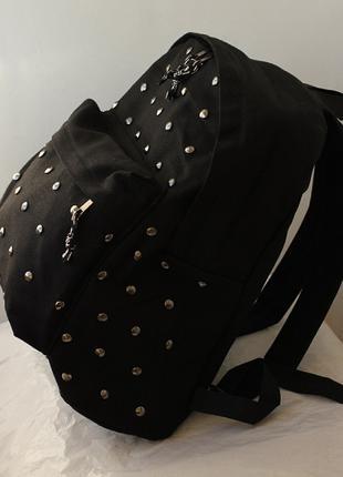 Стильный Молодёжный Рюкзак с заклепками