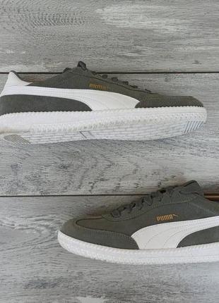 Puma мужские замшевые кроссовки оригинал распаровка!