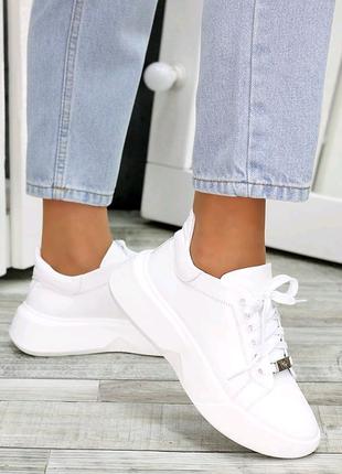 Кроссовки, кожаные кроссовки