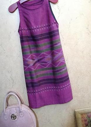 Платье смесовый лен