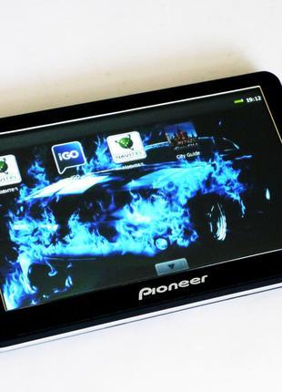 "7"" GPS навигатор Pioneer 718 - 8gb 800mhz 256mb IGO+Navitel"