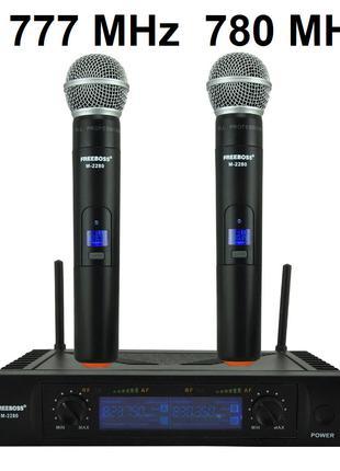 Радиомикрофон FREEBOSS M 2280 радиосистема микрофон беспроводной
