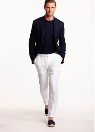 Celio casual брюки льняные мужские  размер 32