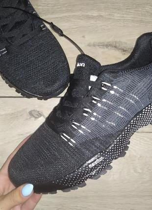 Marathon кроссовки текстиль мужские стрейч сетка