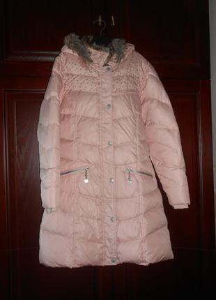 Зимнее куртка-палто-пуховик vertbaudet на 11-12 лет 150см. фра...