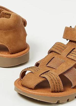 В наличии. коричневые сандали, босоножки,george, 10 рр, 28 рр,...