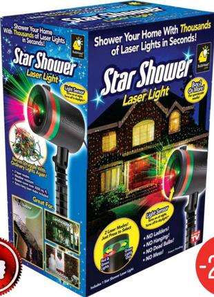 Лазерный проектор Star Shower гирлянда освещение дома