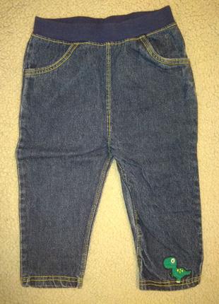 Модные джинсы для мальчика 12-18 мес, 80-86 см.