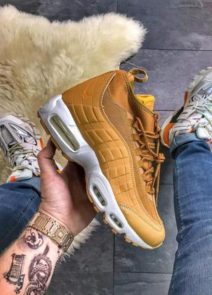 Nike air max 95 sneakerboot brown