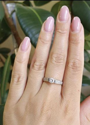 Кольцо серебряное лк0022