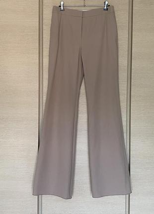 Изумительные брюки цвета капучино max mara размер м