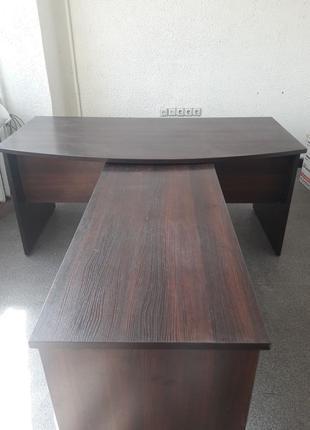 Стол руководителя+шкаф (комплект)
