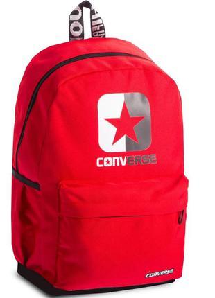 Рюкзак городской женский красный