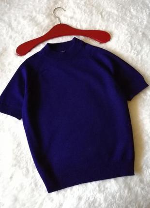 Трикотажный топ футболка трикотажная