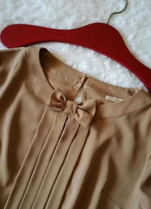 Блуза горчичного цвета zaffiro оверсайз