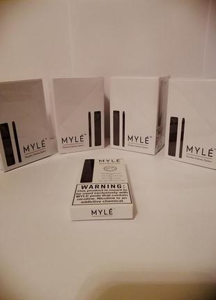 Новогодние скидки.MYLE Nicotine Delivery System оригинал США.