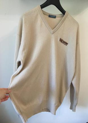 Джемпер пуловер lyle&scott xl