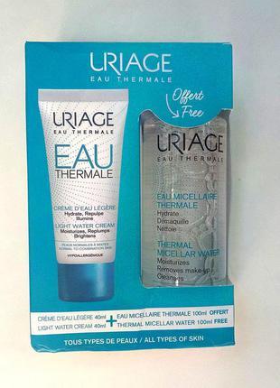 🎁набор для лица uriage thermale (мицеллярная вода и увлажняющи...