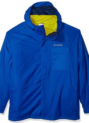 Демисезонная куртка columbia 3 в 1 ten falls interchange xl и 2xl