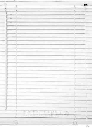 Жалюзи-горизонт-белые-готовые-пластик размер на 2фото достав и...
