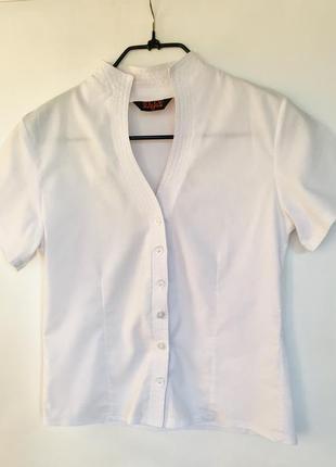 Блузка белая 42 размер