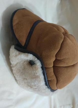 Шапка овчина зимняя англия