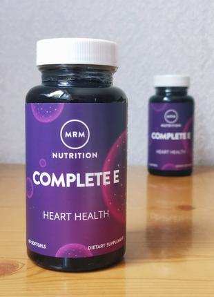 Витамин Е, Complete E, MRM, 60 таблеток