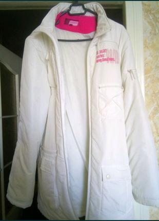 Болоневая детская курточка, куртка, пальто