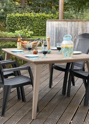 Комплект садовой мебели Minnesota Set with Lima, Melody Table